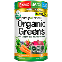 Vitamins & Supplements: Purely Inspired Organic Greens