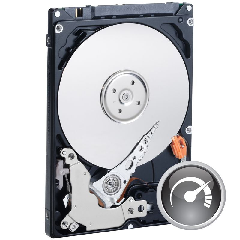 "Re-certified Western Digital Scorpio Black WD5000BPKT 500GB 7200rpm 2.5"" SATA Hard Drive - DMS"