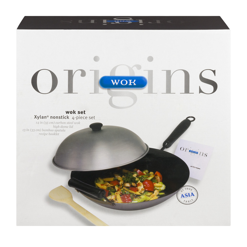 Origins Wok Set - 4 PC, 4.0 PIECE(S)