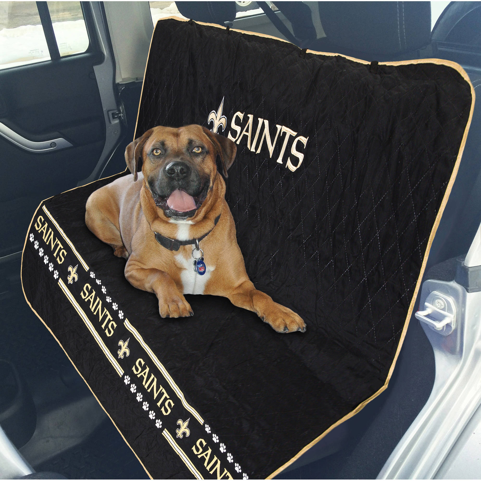 Pets First NFL New Orleans Saints Car Seat Cover