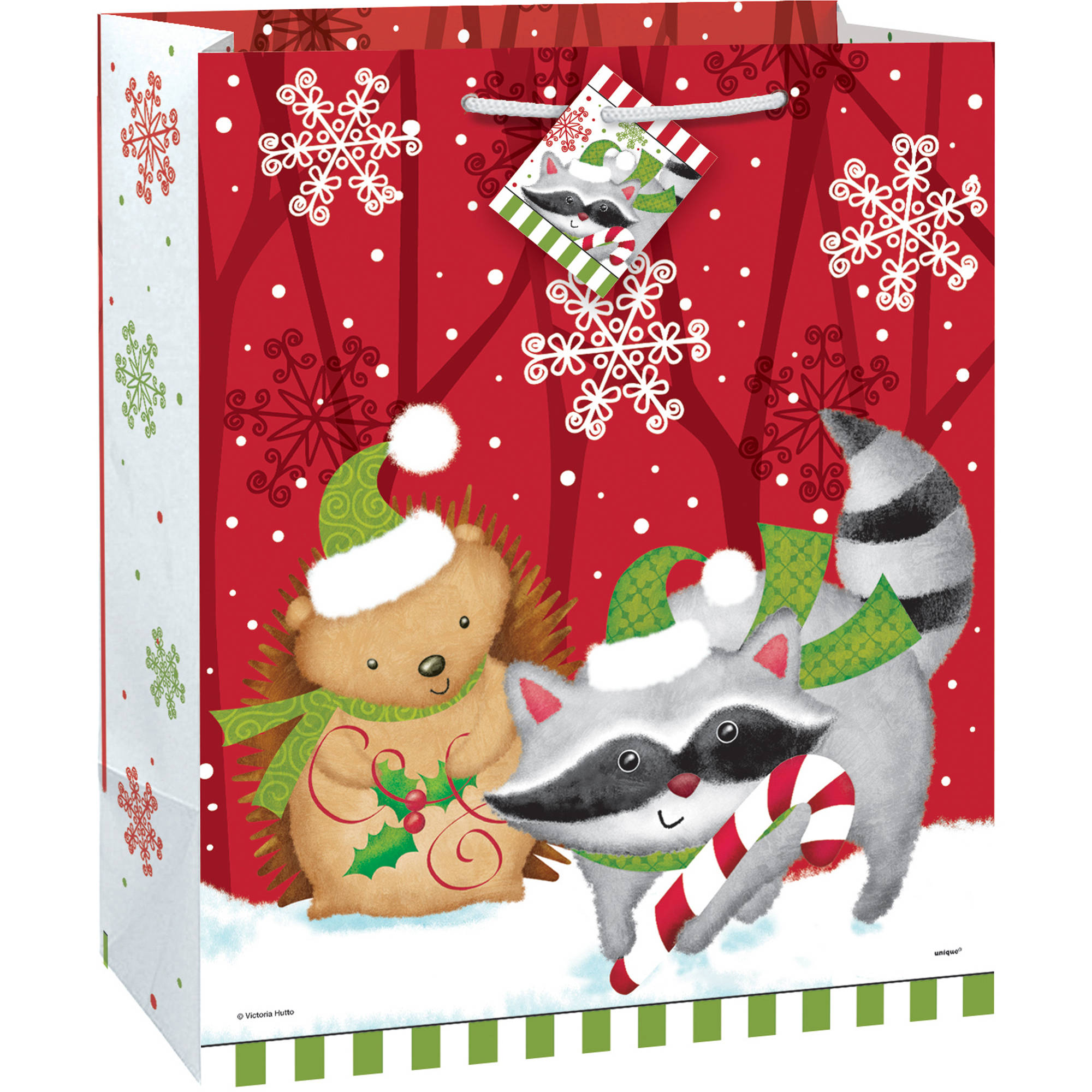 large woodland christmas gift bag walmartcom - Large Christmas Gift Bags
