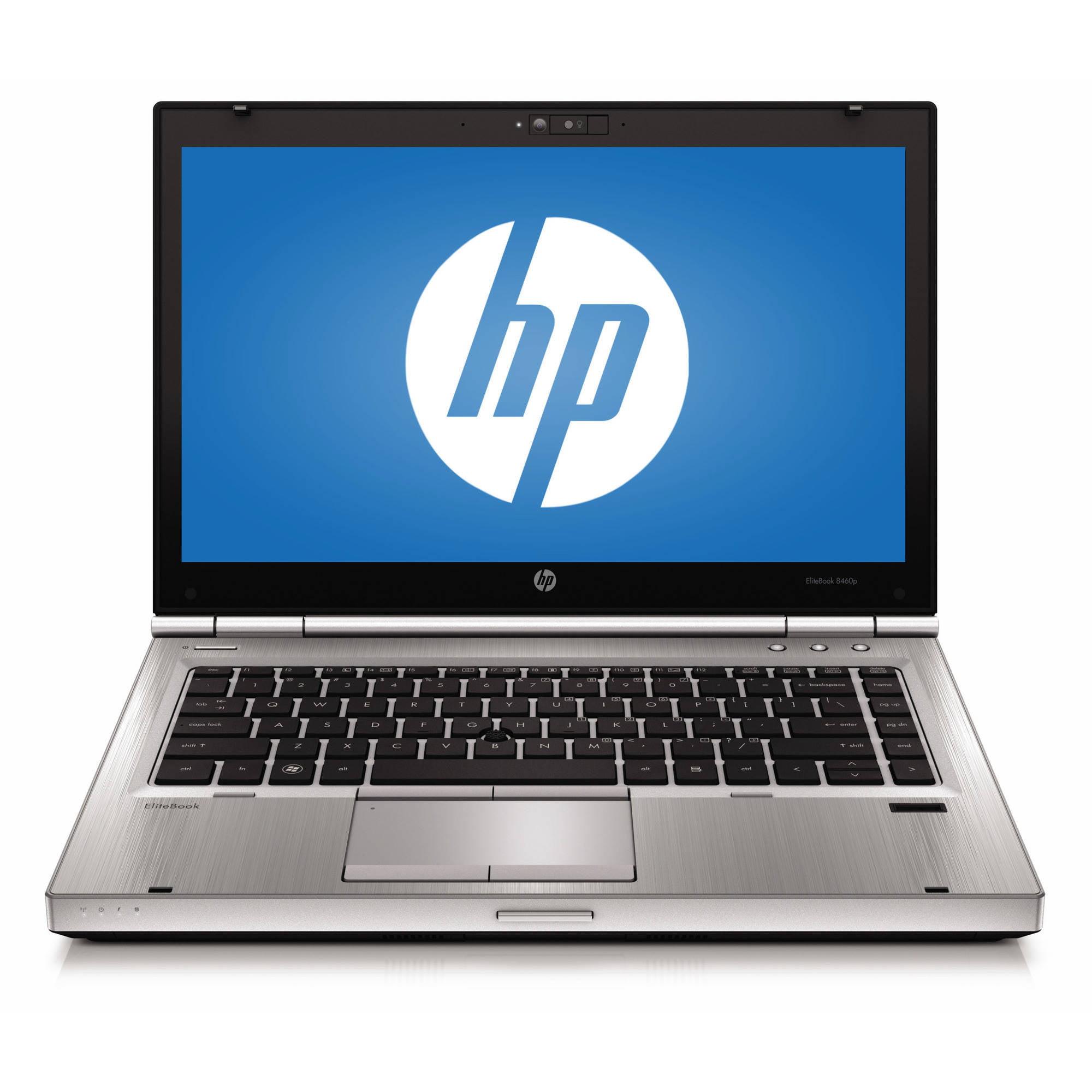 "Refurbished HP EliteBook 8460P 14"" Laptop, Windows 10 Pro, Intel Core i5-2520M Processor, 4GB RAM, 320GB Hard Drive"