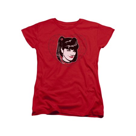 NCIS Naval Criminal Investigative Service Abby Face Women's T-Shirt Tee