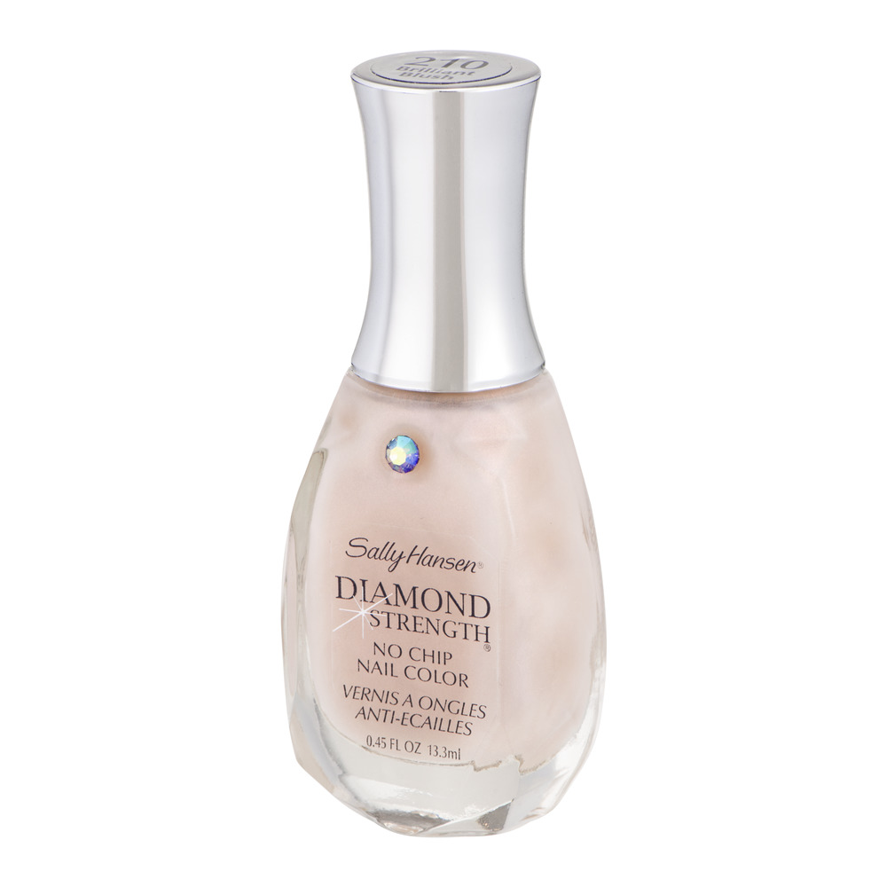 Sally Hansen Diamond Strength No Chip Nail Color, Brilliant Blush ...