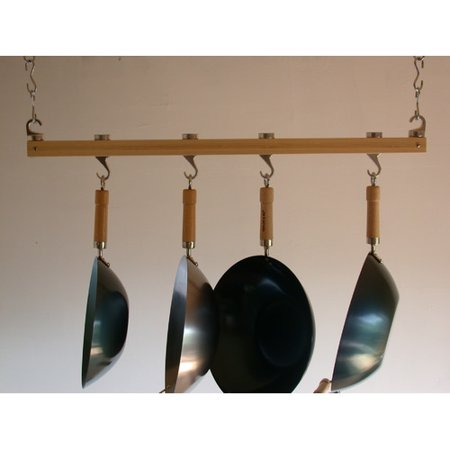 Taylor & Ng Track Rack Ceiling Pot (Bamboo Ceiling Pot Rack)