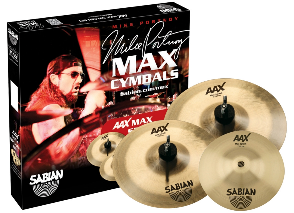 Sabian AAX Max Splash Cymbal Set 7 in., 9 in., 11 in. by Sabian