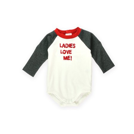 Gymboree Boys Ladies Love Me bodysuit Embellished T-Shirt