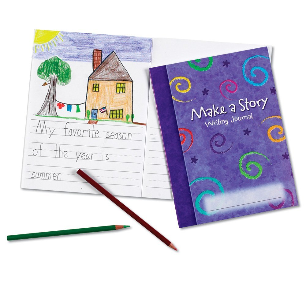 Learning Resources Make-A-Story Journal, Set Of 10