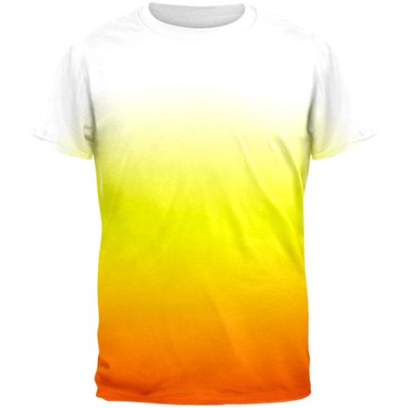 Halloween Candy Corn Ombre Costume All Over Mens T Shirt](All My Candy From Halloween)