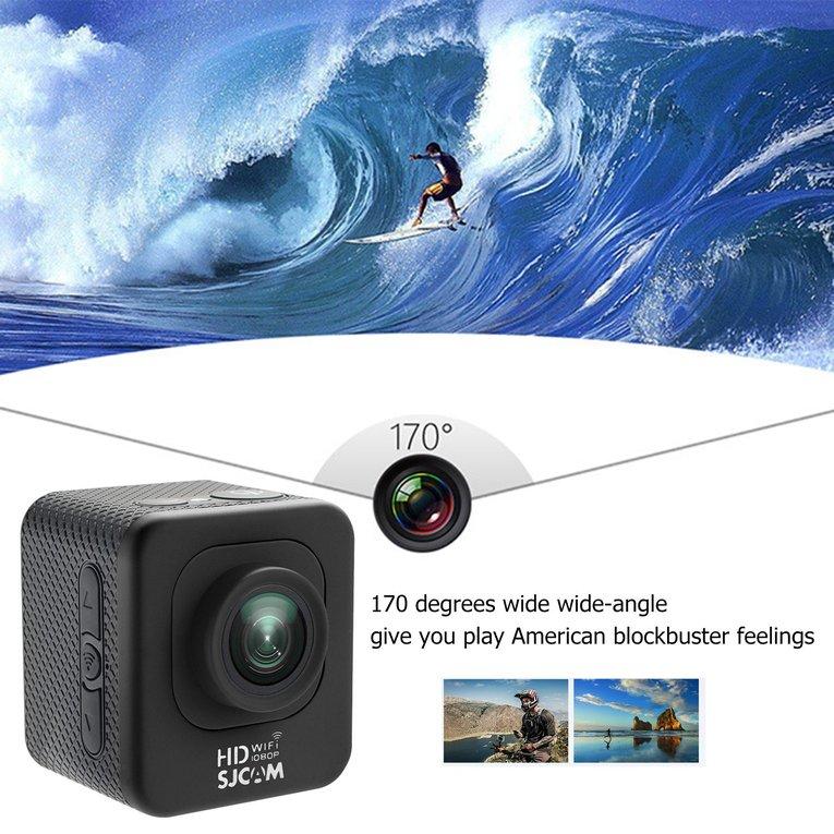 SJCAM M10 WIFI 12MP 1080P Mini Sports Action Camera Waterproof Diving Camcorder,