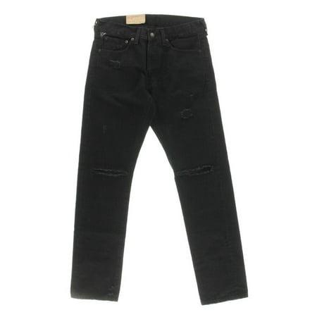 Denim & Supply Mens Baked Creases Slim-fit Slim Jeans Denim