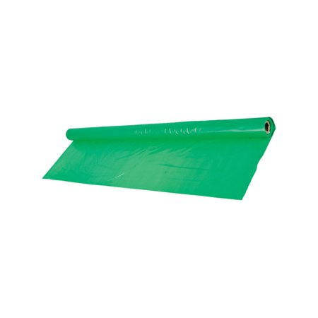 Giant Green Birthday Halloween Party Decoration Plastic Table Cloth Cover Roll - Porch Light Covers Halloween