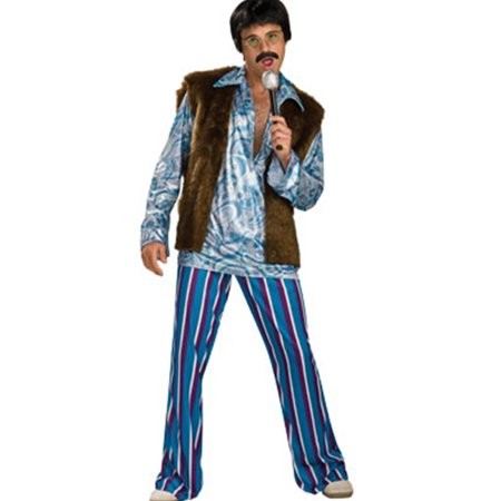 Men's 1-Size 44 70s Hippie Rockstar Guy Sonny Costume](Scary Guy Costumes)