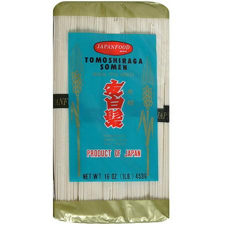 - JFC Tomoshiraga Somen Thin Wheat Noodles, 16 oz (Pack of 24)