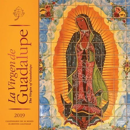 La Virgen de Guadalupe 2019 Square Spanish English Foil (Other)