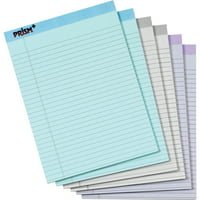 TOPS, TOP63116, Prism Plus Colored Paper Pads, 6 / Pack