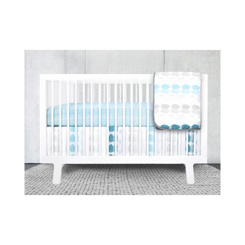 Bundle-21 olli & lime Forrest Crib Bedding Collection (4 Pieces)