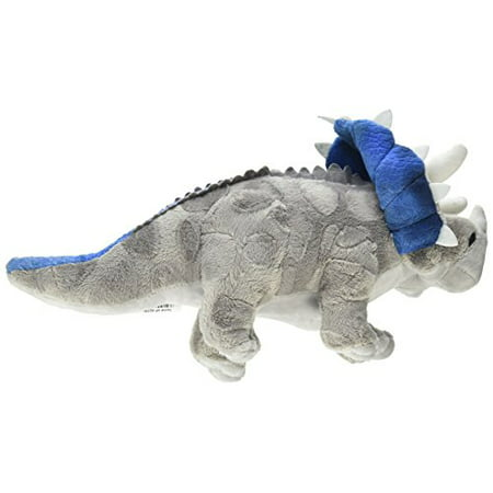 One Assorted Color Triceratops Dinosaur Plush Stuffed Animal - - Stuffed Dinosaurs