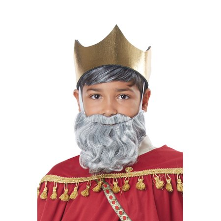 Wise Man Child Beard and Moustache - Fake Beard For Kids