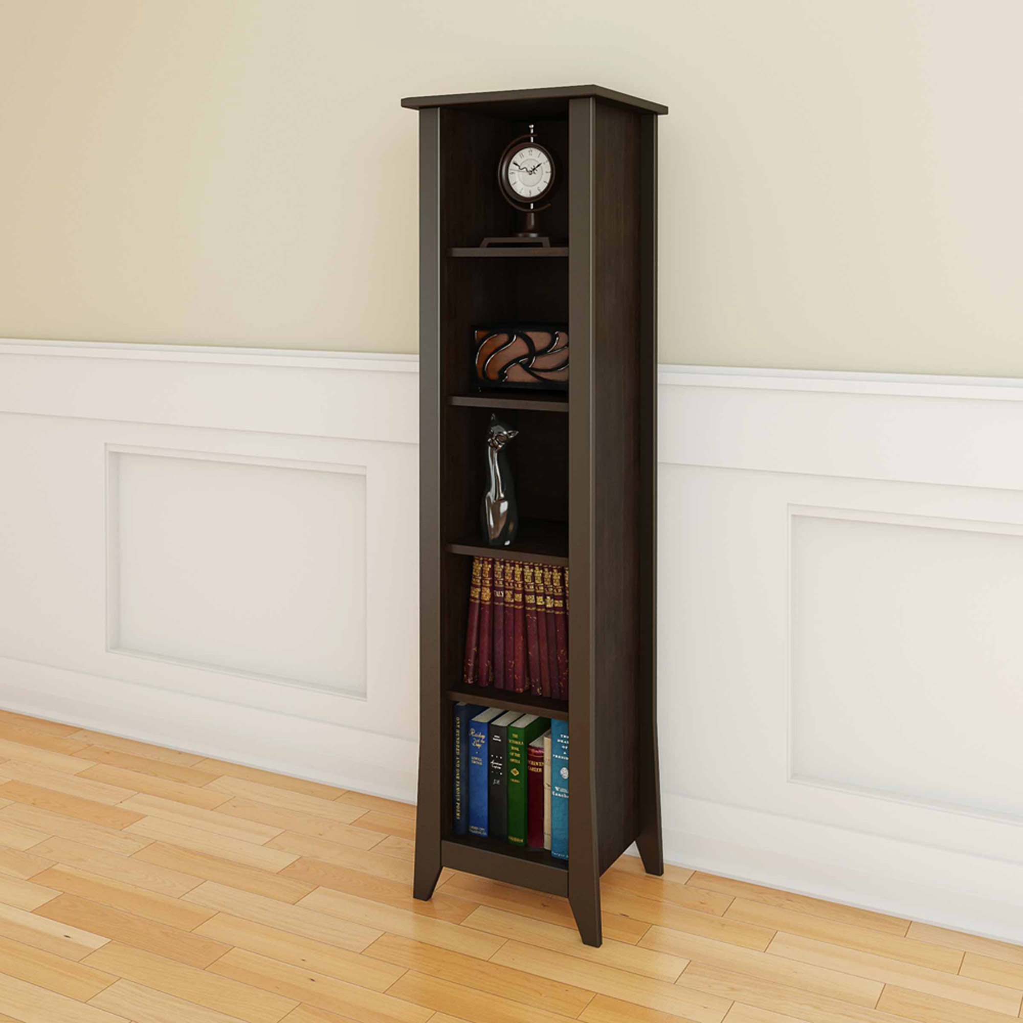 Elegance 3-Shelf Bookcase
