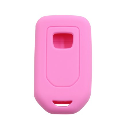 Pink 3 Button Car Keyless Entry Remote Key Case Holder Shell Cover for Honda - image 1 de 3