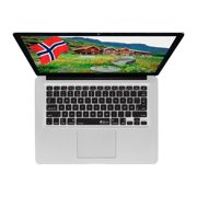 KB Covers Norwegian Keyboard Cover NOR-M-CB-2 - Notebook keyboard protector - clear - for Apple MacBook (13.3 in); MacBook Air (13.3 in); MacBook Pro (13.3 in, 15.4 in, 17 in)