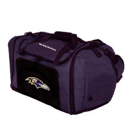 NFL Baltimore Ravens Roadblock Duffel Bag, Purple