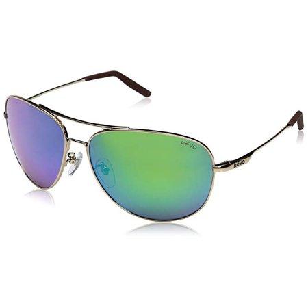 d2a67d9b63 Revo - Revo RE 1022GF 04 GN Windspeed Ii Polarized Aviator Sunglasses