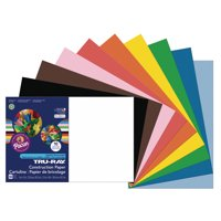 "Pacon Tru-Ray Construction Paper, 12"", x 18"", Assorted Colors"