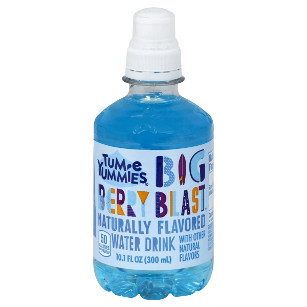 Tum-E Yummie Berry Burst Naturally Flavored Water Drink, 10.1 Fl. Oz.