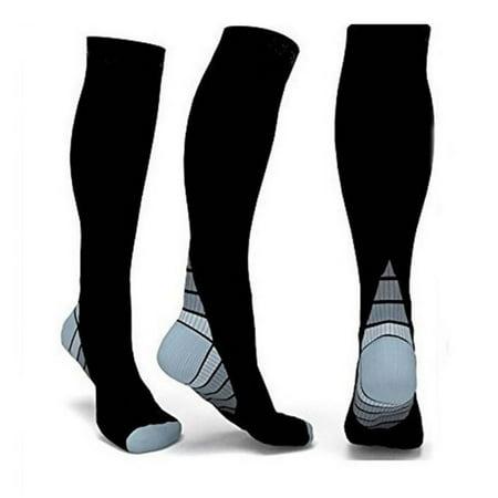 90429149f98 Foot Anti-Fatigue Compression Socks Stockings Men Women Sports Running Socks  - Walmart.com