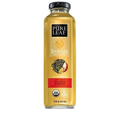 Pure Leaf Tea House Collection Iced Tea, Green Tea Fuji Apple, 14 Fl Oz, 8 (Pure Green)