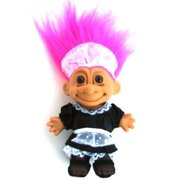 Russ Berrie My Lucky French Maid 6 Troll Doll