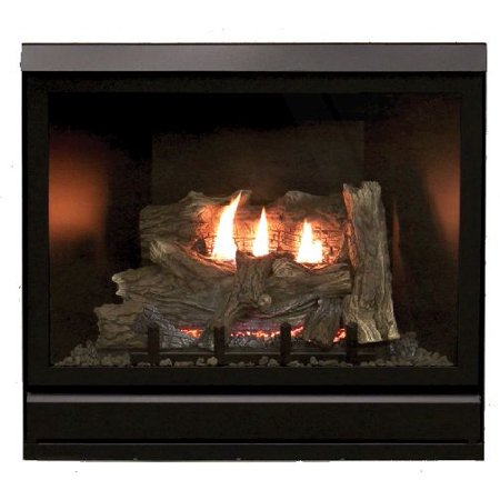 "Tahoe Clean Face Direct Vent IPC Deluxe 42"" LP Fireplace with Blower"