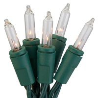 Holiday Time 18 ft, 300 Count Clear Incandescent Icicle Christmas Lights