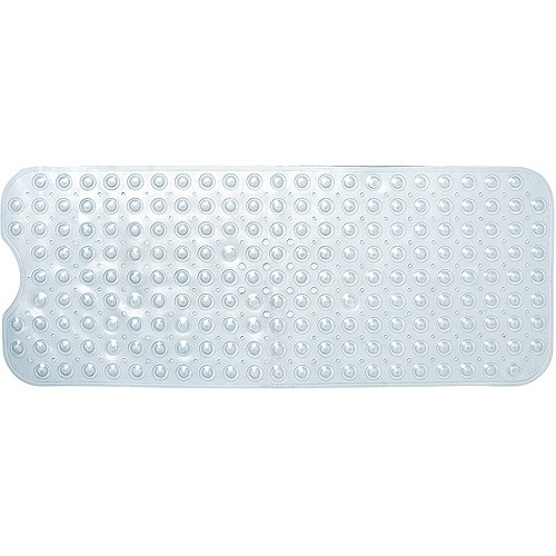 Deluxe Bath Mat, Clear
