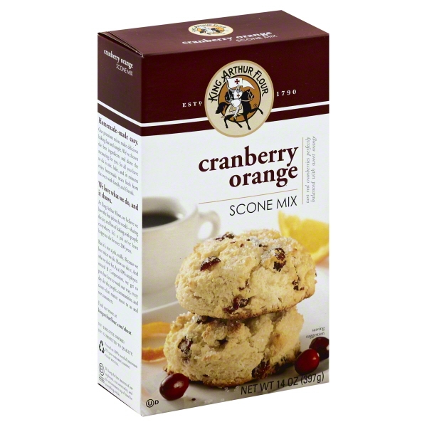 King Arthur Flour Cranberry Orange Scone Mix 14 oz. Box