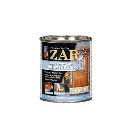 34211 zar exterior water based exterior polyurethane pint for Zar exterior water based polyurethane