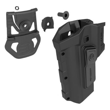 Recover Tactical HC11 Active Holster For The 1911 With CC3H/P, Left Hand, Black,
