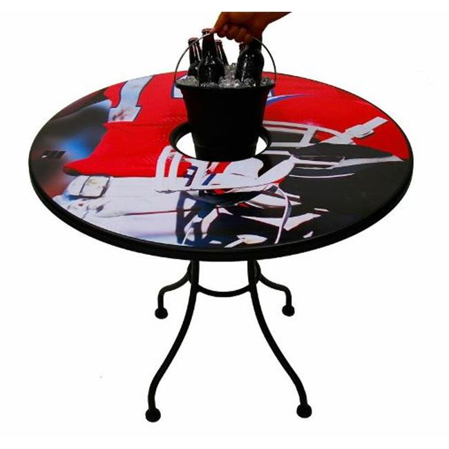 MagneticSkins Sports and LifeStyle Redskin Bucket Table