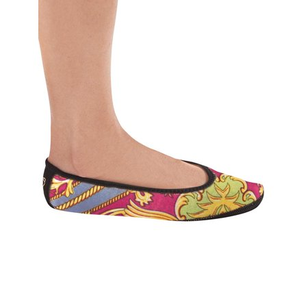 Nufoot Comfort Breathable Ballet Slippers, X-Large, Pink Baroque
