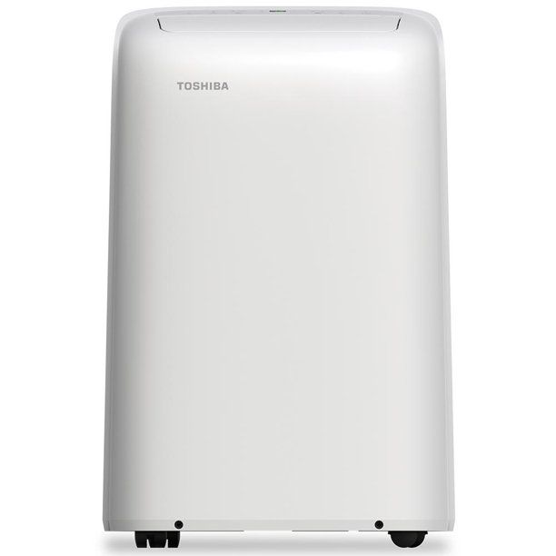 Toshiba 8,000 BTU (12,000 BTU ASHRAE) 115-Volt Portable Air Conditioner with Dehumidifier, Factory Refurbished