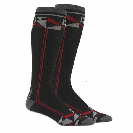 Wigwam Snow - Made In USA Snow Prism Socks Black Unisex Large