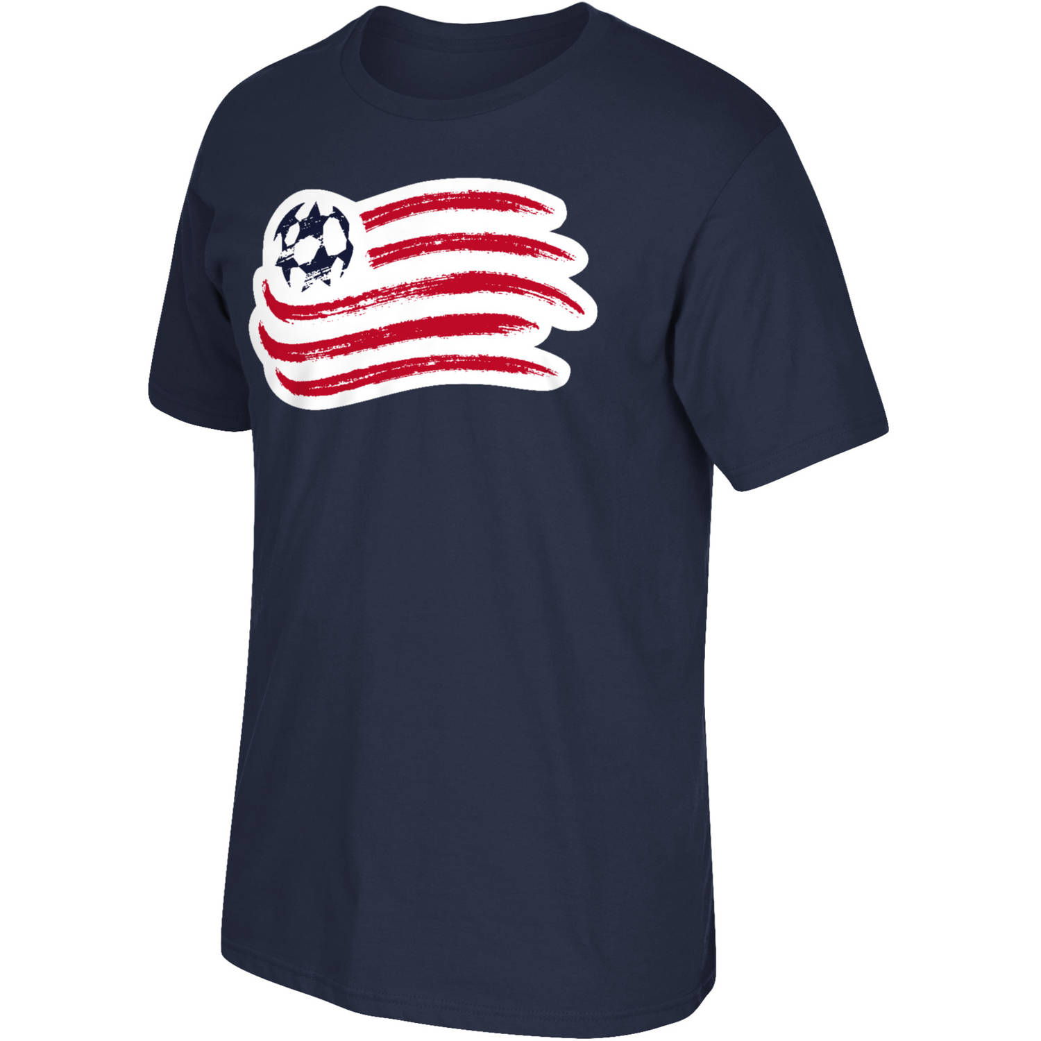 MLS New England Revolution Mens Oversized Logo Short Sleeve Tee