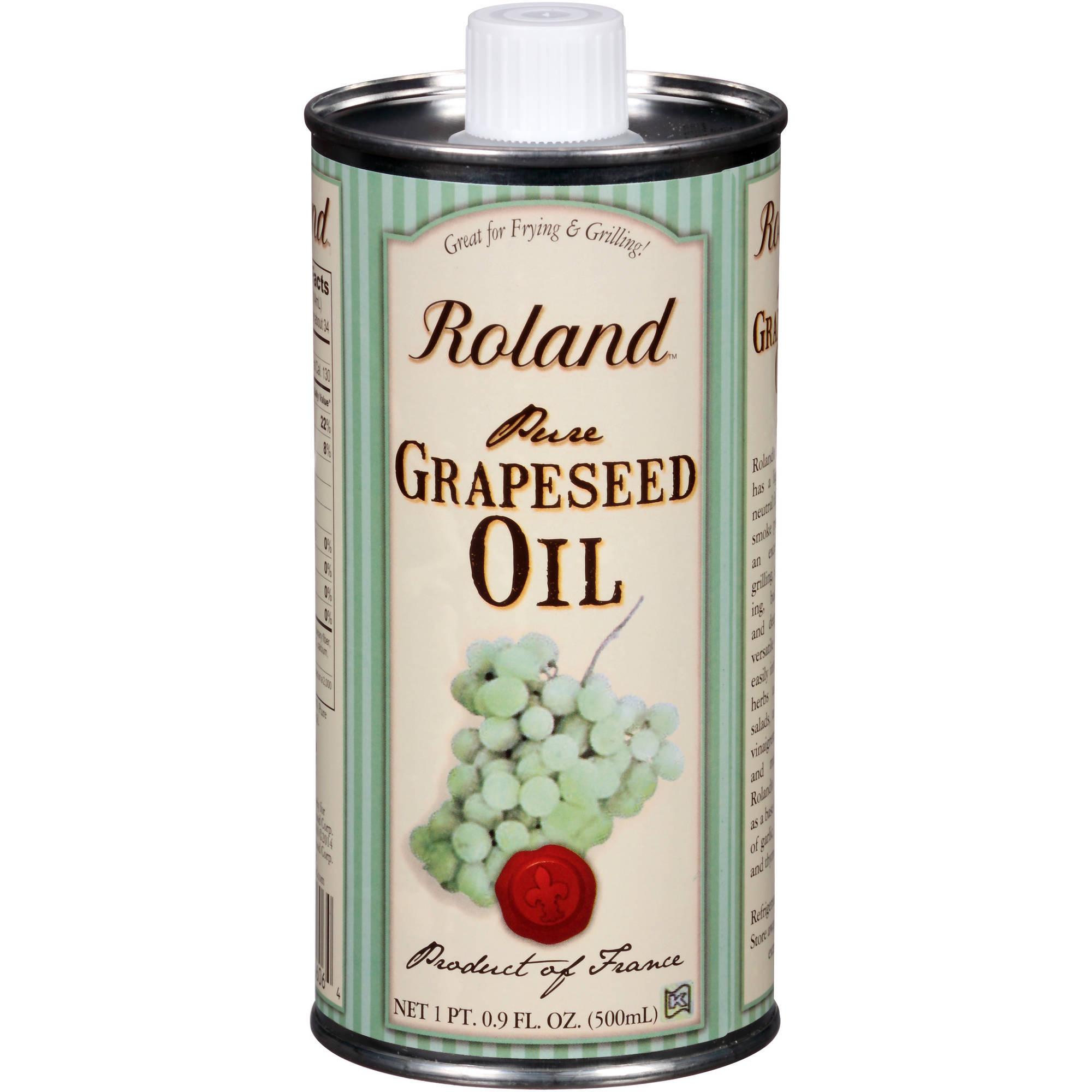 Roland Pure Grapeseed Oil, 16.9 fl oz