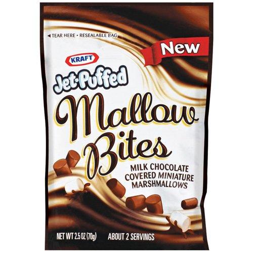 Jet-Puffed Milk Chocolate Covered Miniature Marshmallows, 2.5 oz