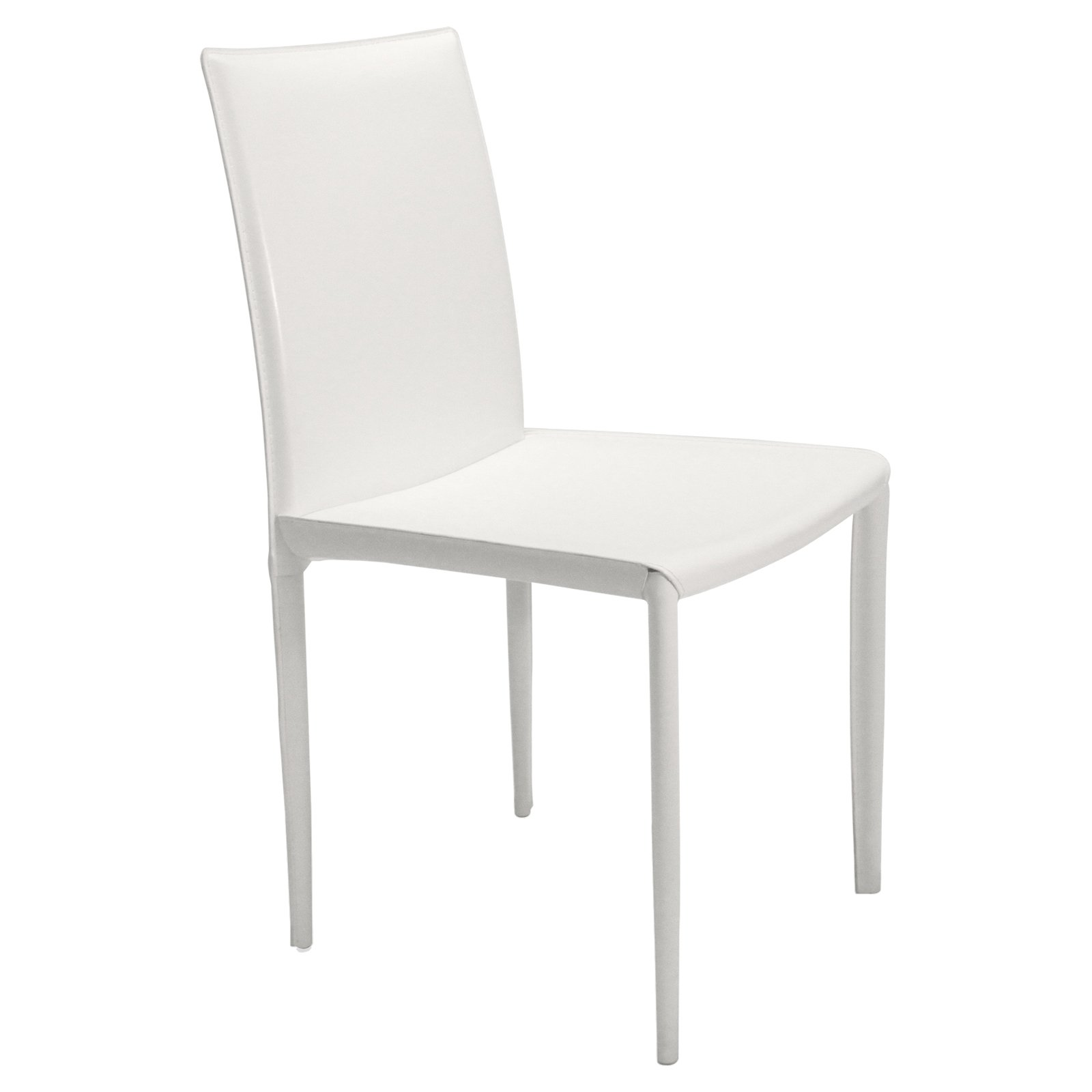 Image of Aeon Furniture Aimee Leather Dining Chairs - Set of 4