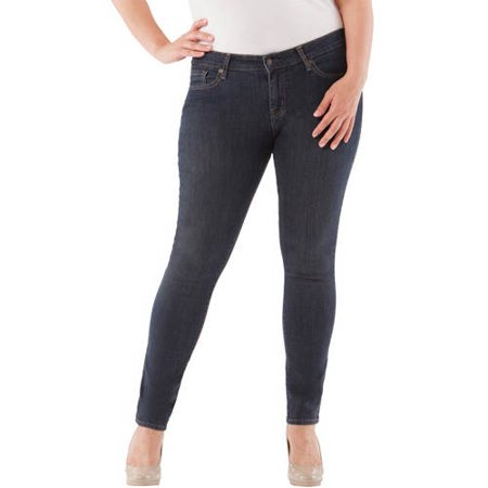 Signature by Levi Strauss; Co.; Women's Plus Skinny Jeans
