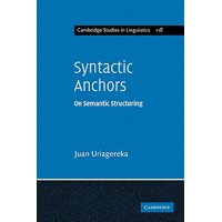 Syntactic Anchors : On Semantic Structuring