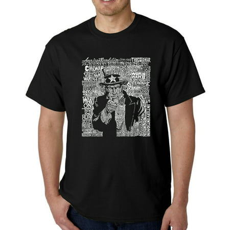 Los Angeles Pop Art Men's T-Shirt - Uncle - Bars In Los Angeles For Halloween